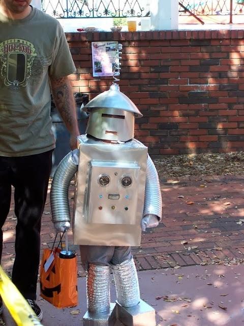 disfraz Robot de hojalata