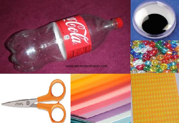 Aprender a Hacer - Manualidades para niños | Alcancia con botellas ...