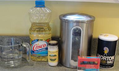 ingredientes plastilina casera