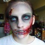 Cómo hacer un maquillaje zombie