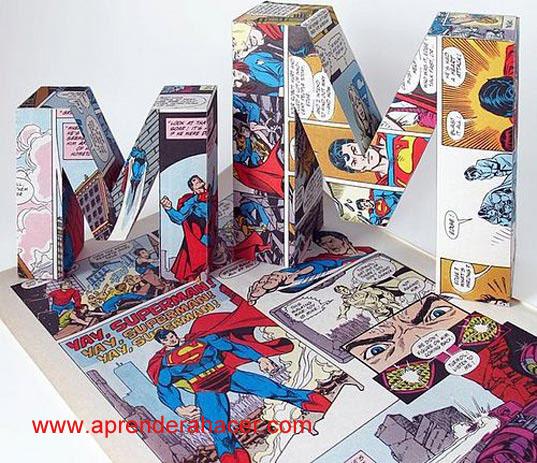 letras-3D-de-comics