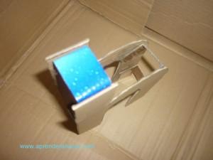 Unión con carton