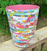 como reciclar ru bote de basura