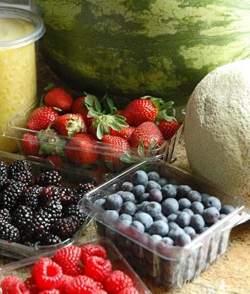 Ingredientes para pastel de frutas