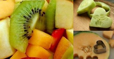 Paso cuatro pastel de frutas