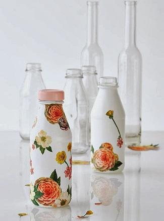 Como reciclar botellas de vidrio