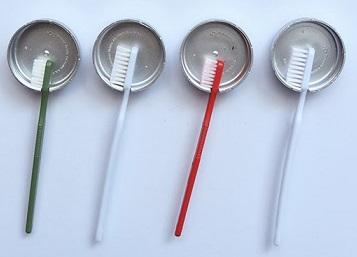 Paso final portacepillos de dientes