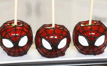 Manzanas de Spiderman