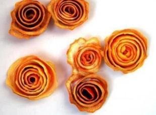 Paso tres flores con cascaras