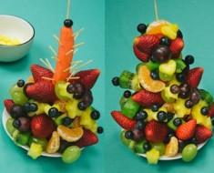 Paso cuatro arbol de frutas