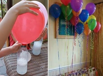 Globos sin helio