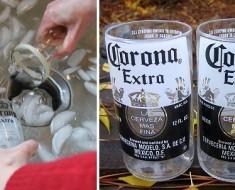hacer vasos con botellas