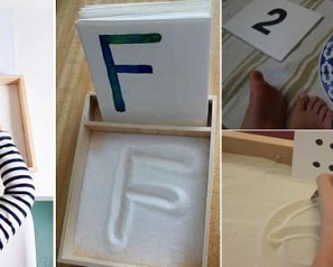 Como trazar las letras y numeros