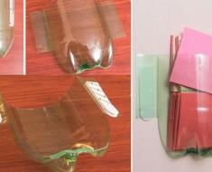 Organizador con botellas