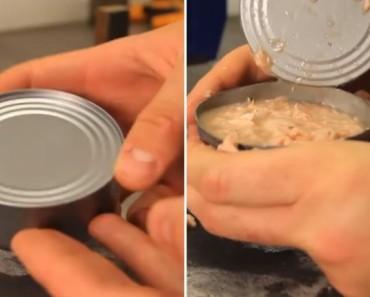 abrir latas sin abrelatas