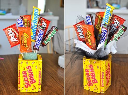 arreglo de dulces para paoa